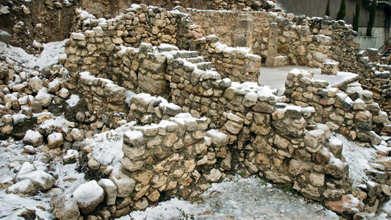 Winter in the City of David